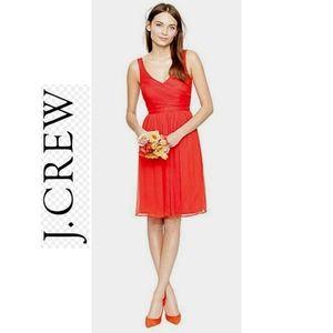 J.CREW pink Heidi 100% silk cocktail dress size 10
